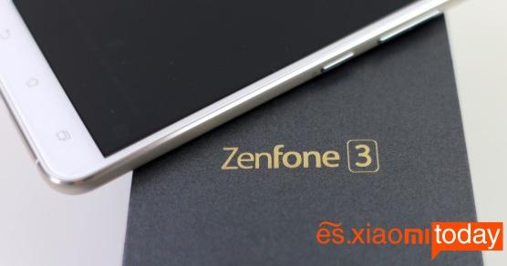 Asus Zenfone 3 análisis caja