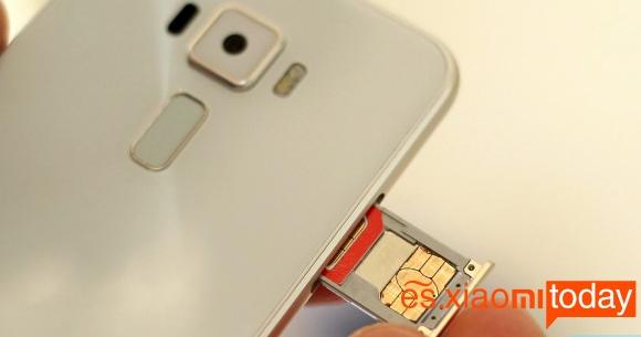 Asus Zenfone 3 análisis SIM
