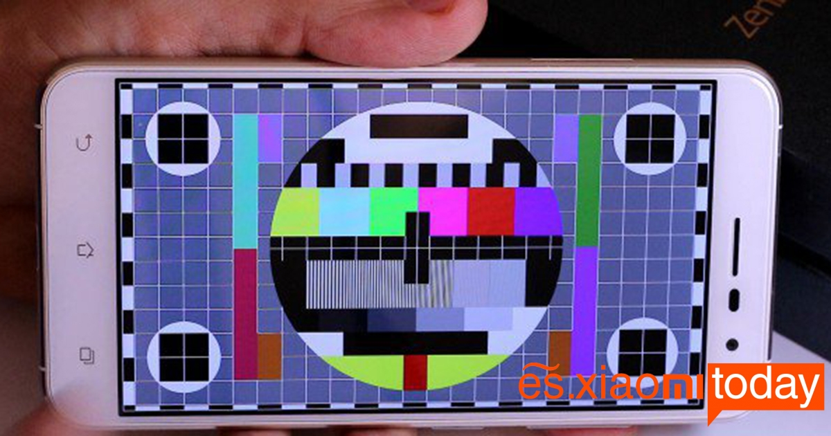 Asus zenfone 3 Análisis pantalla