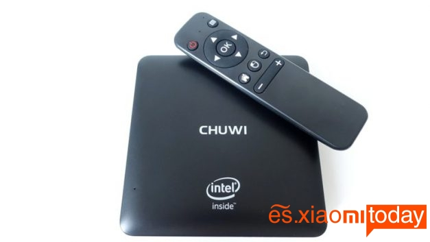 Chuwi HiBox mini pc análisis control
