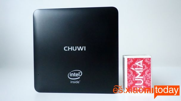 Chuwi HiBox mini pc análisis tamaño