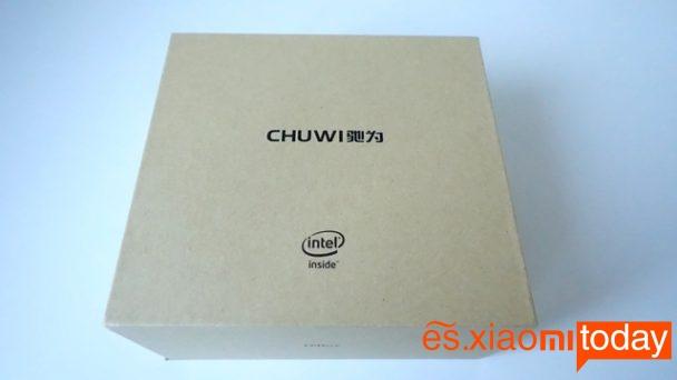 Chuwi HiBox mini pc análisis caja