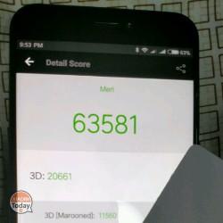 Benchmarks filtrados del Xiaomi Meri