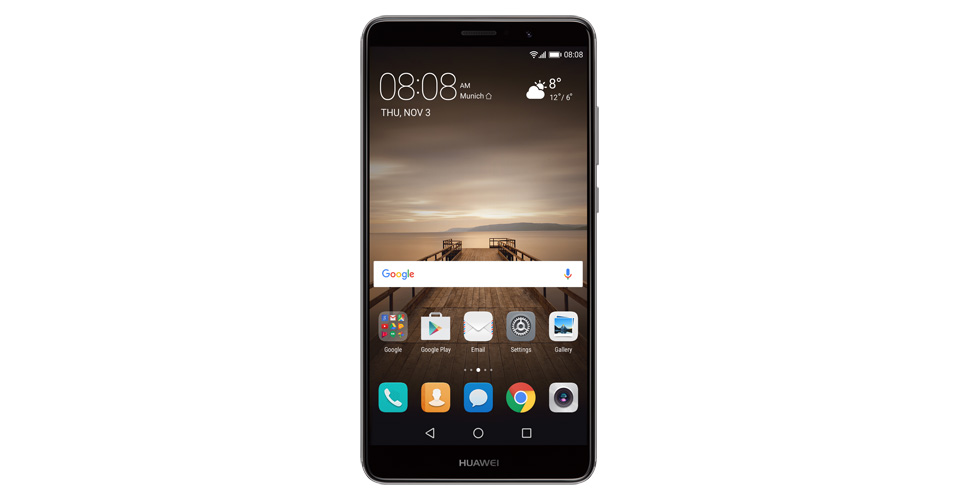 Huawei Mate 9 soporte para alexa