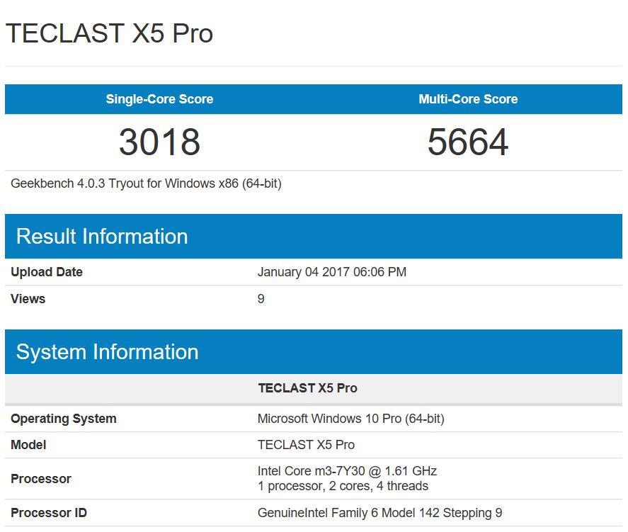 teclast x5 pro análisis
