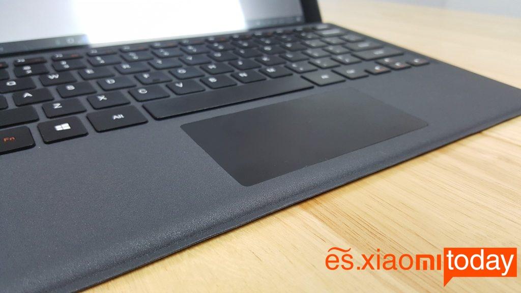 teclast x5 pro análisis teclado