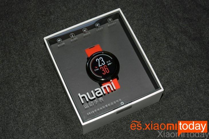 Xiaomi AMAZFIT Análisis caja