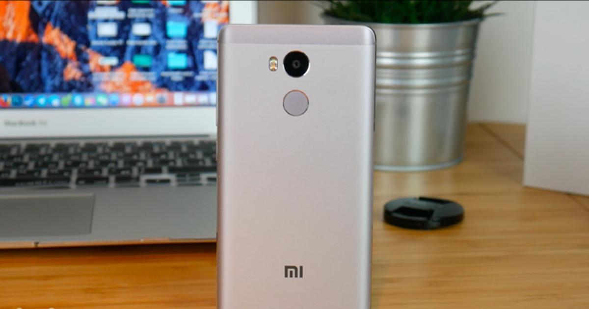 Xiaomi Redmi 4 Mejores Smartphones en Gearbest