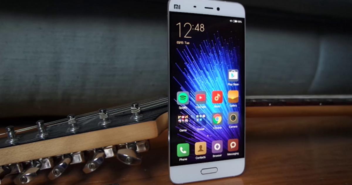 Xiaomi mi 5 Mejores Smartphones en Gearbest