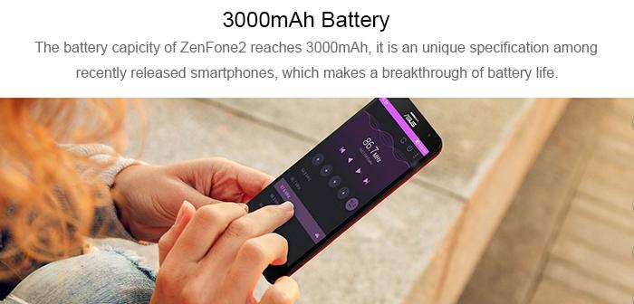 ASUS ZenFone 2 Batería