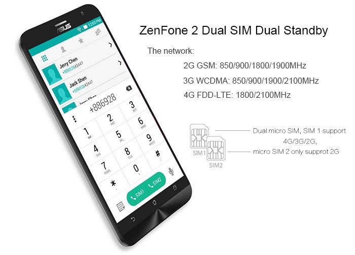 ASUS ZenFone 2 Conectividad