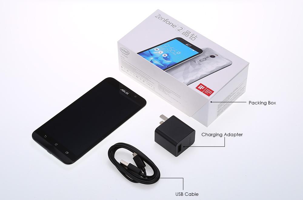 ASUS ZenFone 2 Contenido del paquete