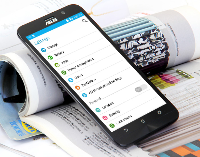ASUS ZenFone 2 Dispositivo