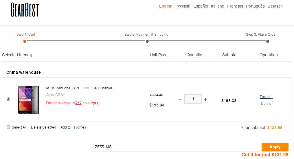 ASUS ZenFone 2 oferta