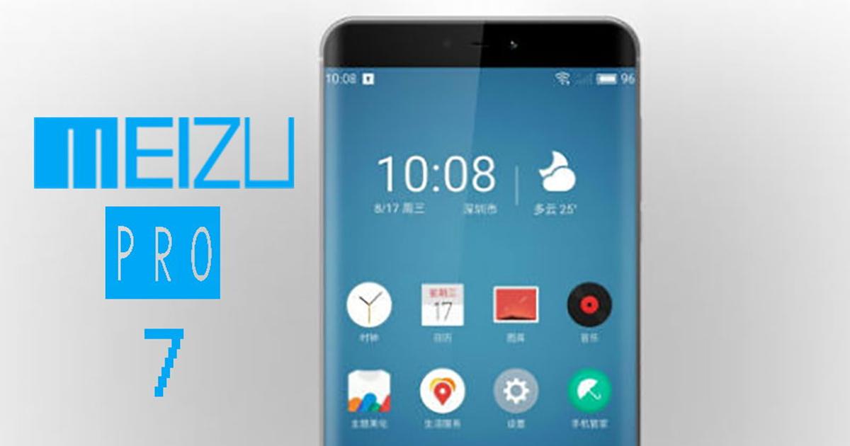 Meizu pro 7 anunciado UHD 4K