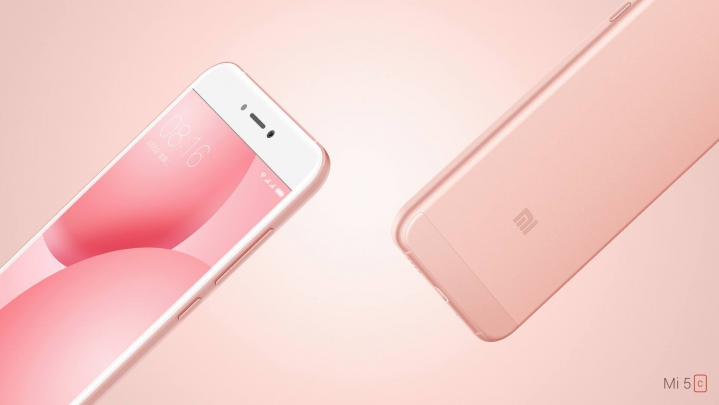 El Xiaomi Mi 5c color Rosegold