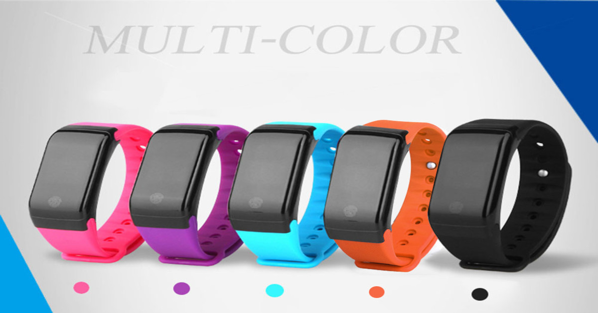 Smartwatch X7 colores-