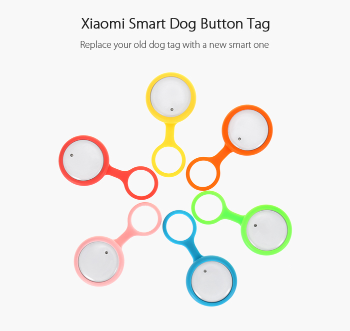 Xiaomi Smart Dog Button Tag, Lo nuevo de Xiaomi