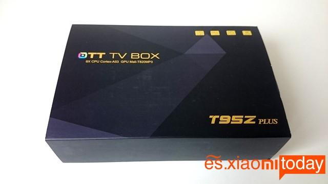 c caja Sunvell T95Z Plus