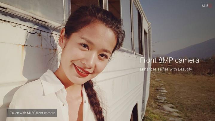 Cámara del Xiaomi Mi 5c fotografías