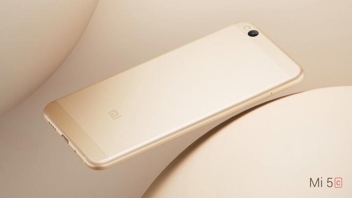 Diseño del Xiaomi Mi 5c