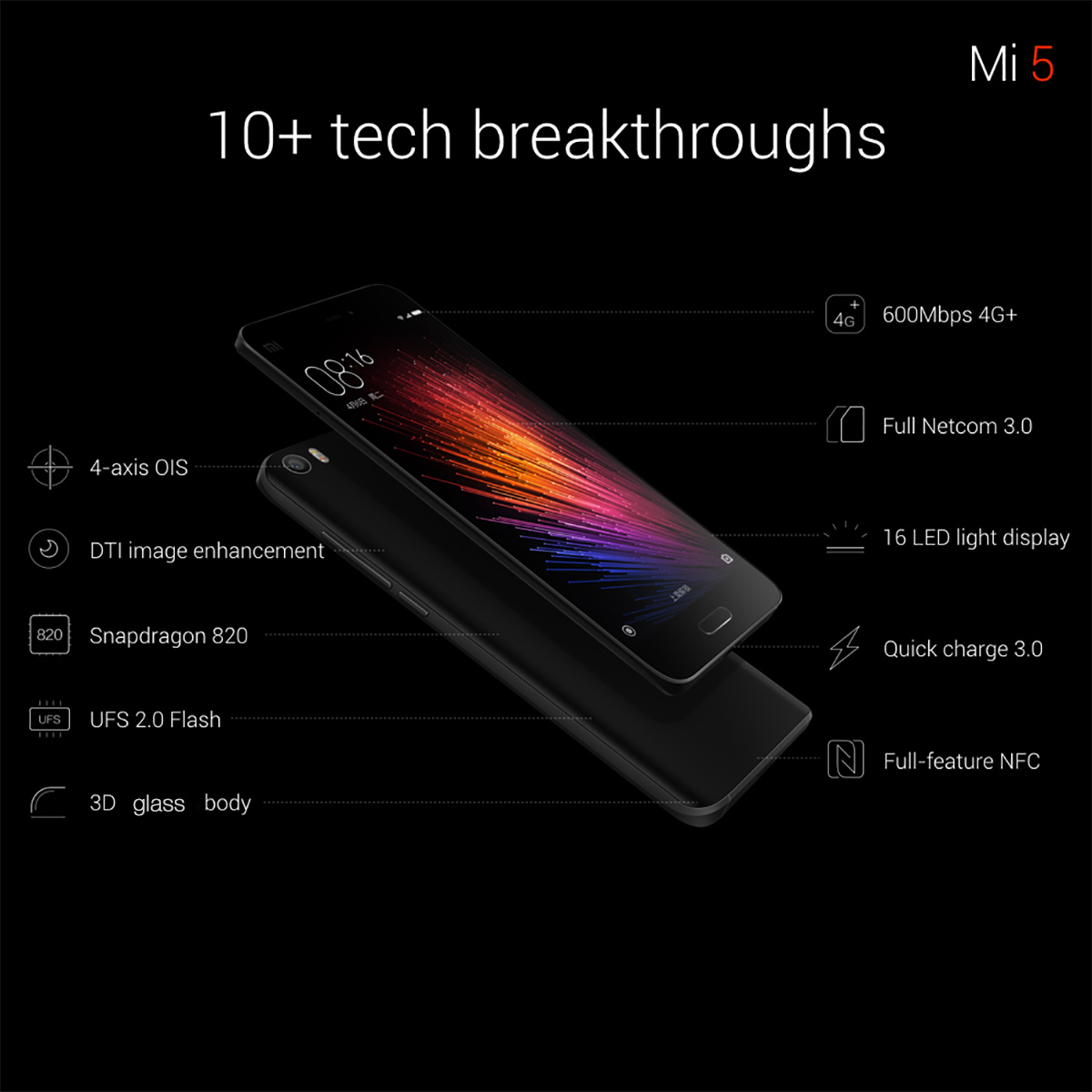 specifications Xiaomi M5
