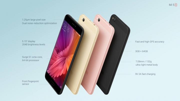 Xiaomi Mi 5c especificaciones