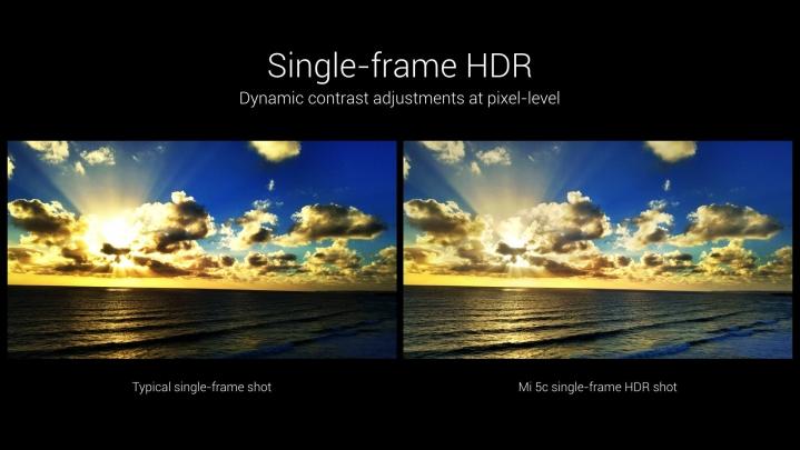 xiaomi Mi 5c HDR