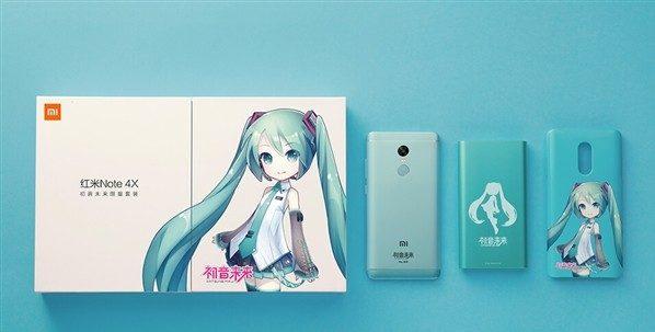 xiaomi Redmi 4X edicion especial Hatsune Miku