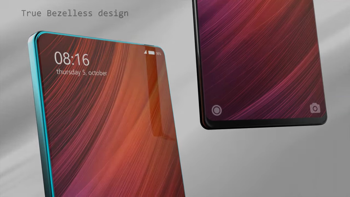 El Xiaomi Mi MIX 2 se deja ver en un vídeo conceptual