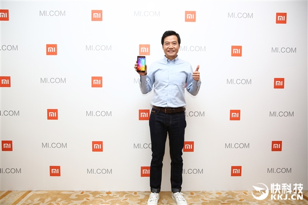 Lei Jun CEO de Xiaomi --- Xiaomi Mi 6