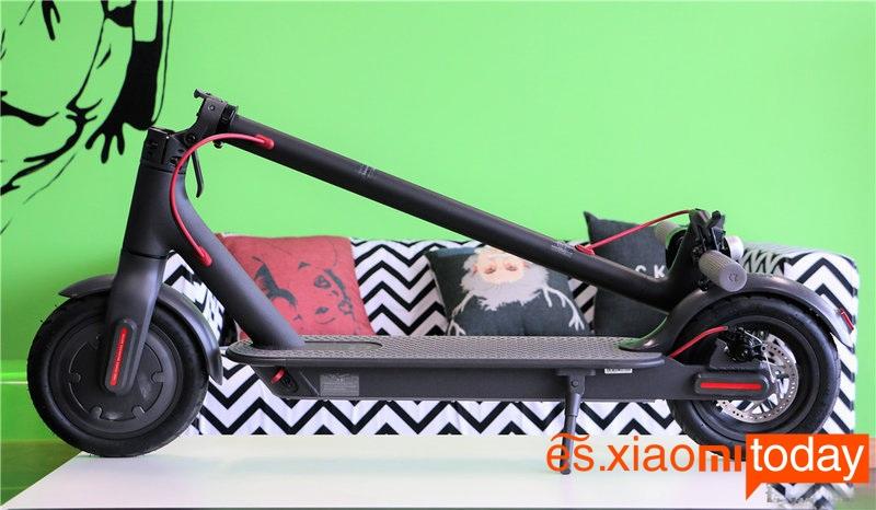Scooter eléctrico Xiaomi M365 Diseño y construcción