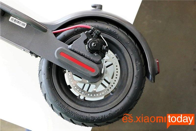 Scooter eléctrico Xiaomi M365 rueda trasera