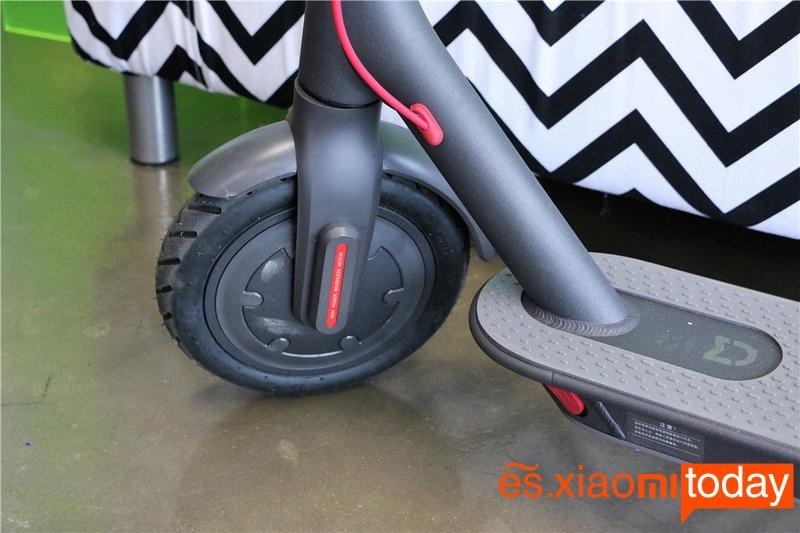 Scooter eléctrico Xiaomi M365 ruedas