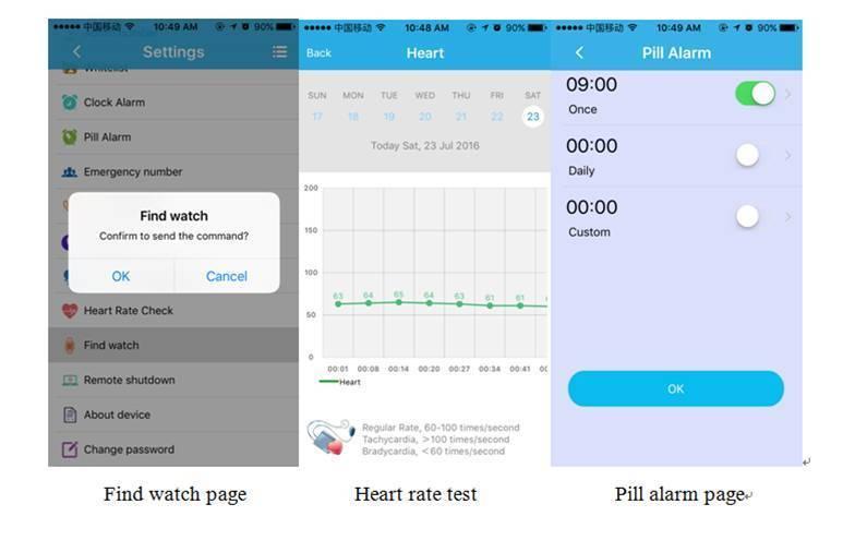 Smartwatch A16 Aplicación