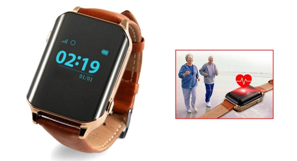 Smartwatch A16 Medidor de frecuencia cardíaca