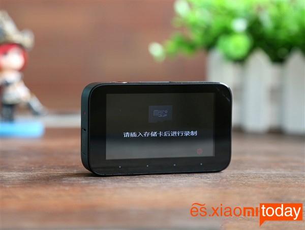 Xiaomi Mijia Car DVR pantalla 2