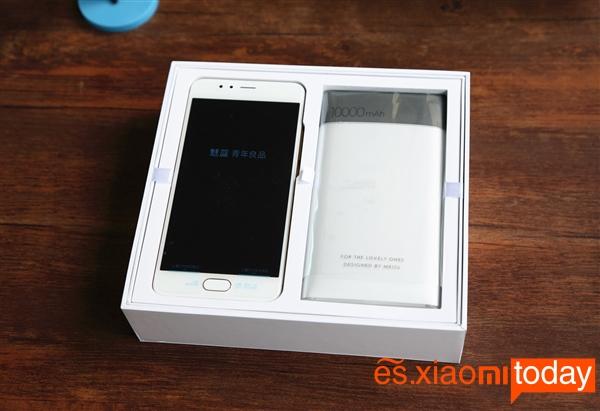 Meizu M5S y powerbank