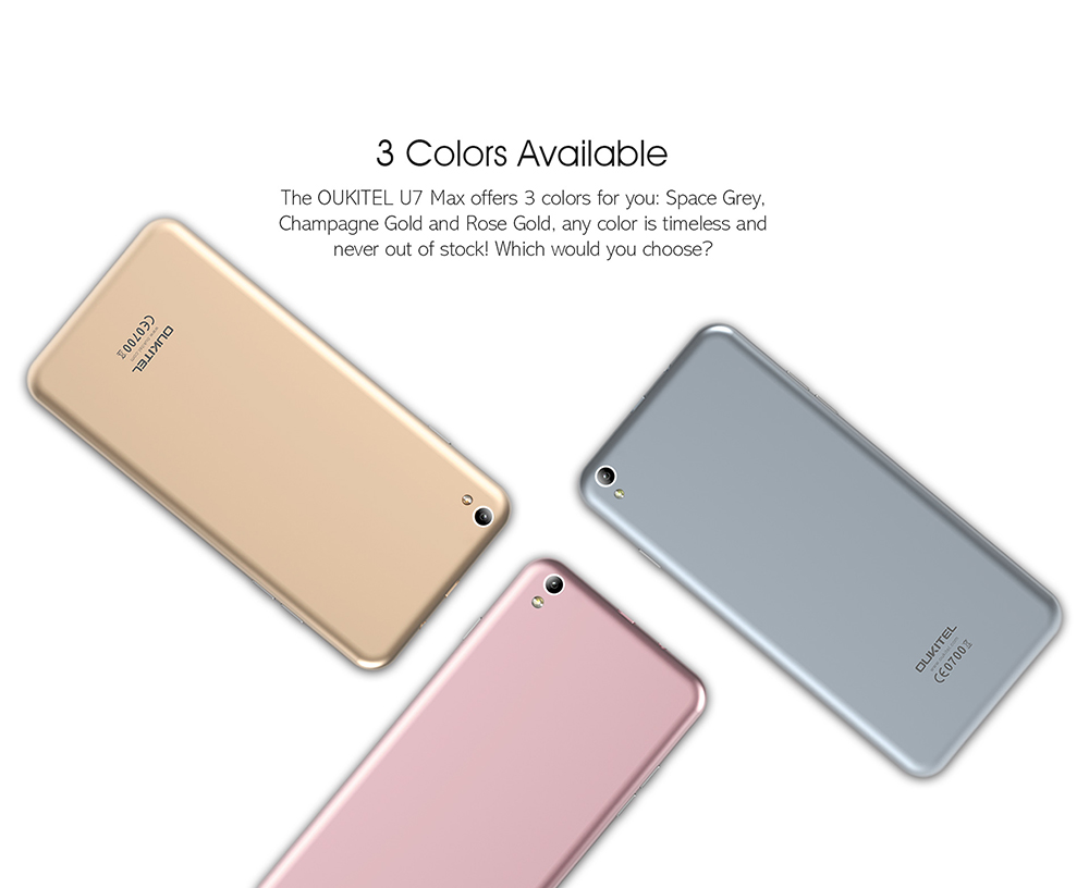 oukitel colors