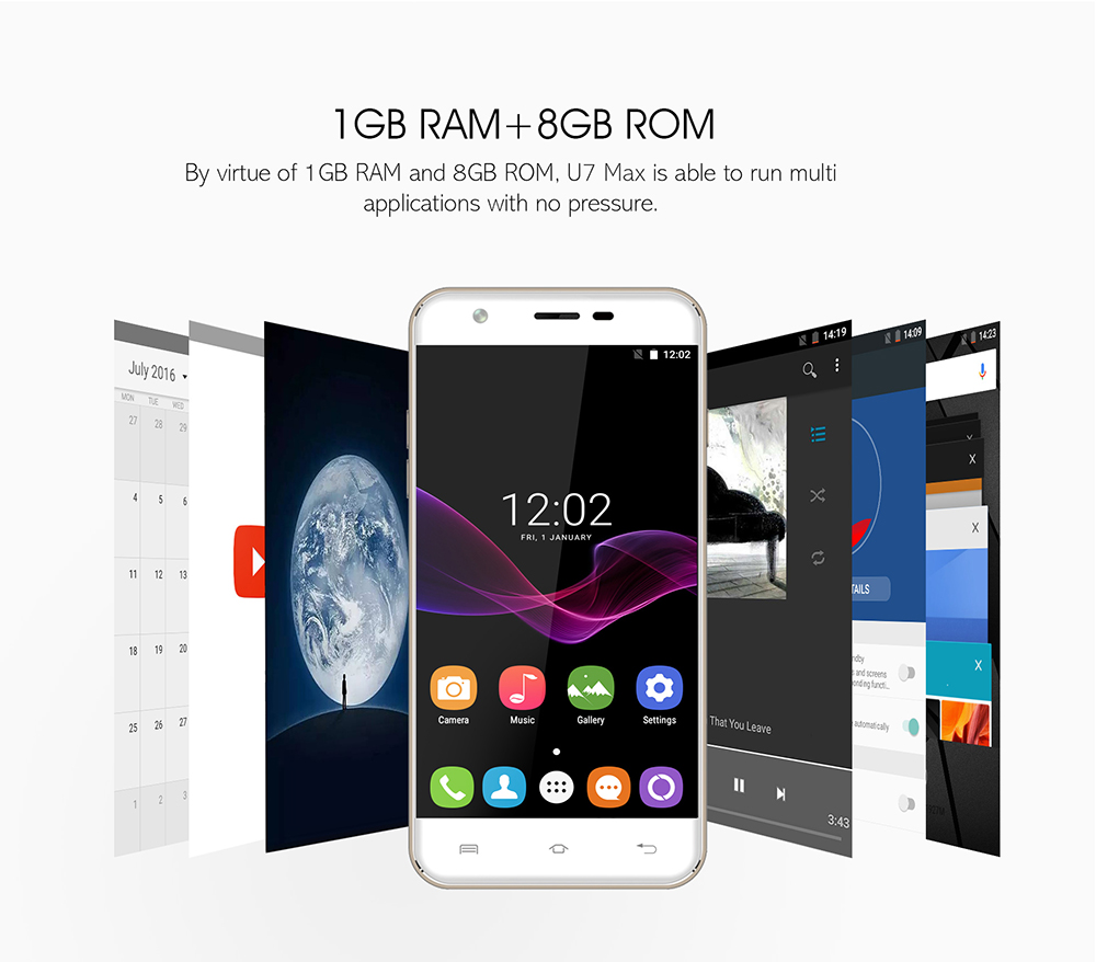 ram and rom oukitel u7