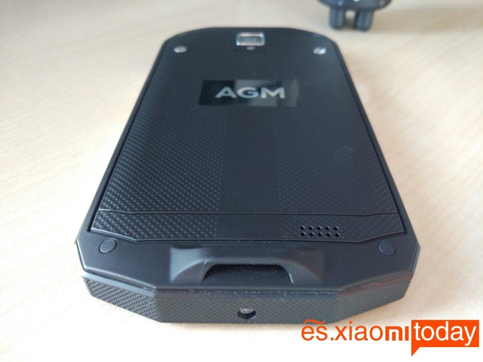 AGM A8 Diseño back
