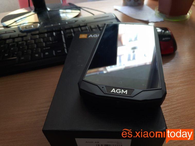 AGM A8 paquete