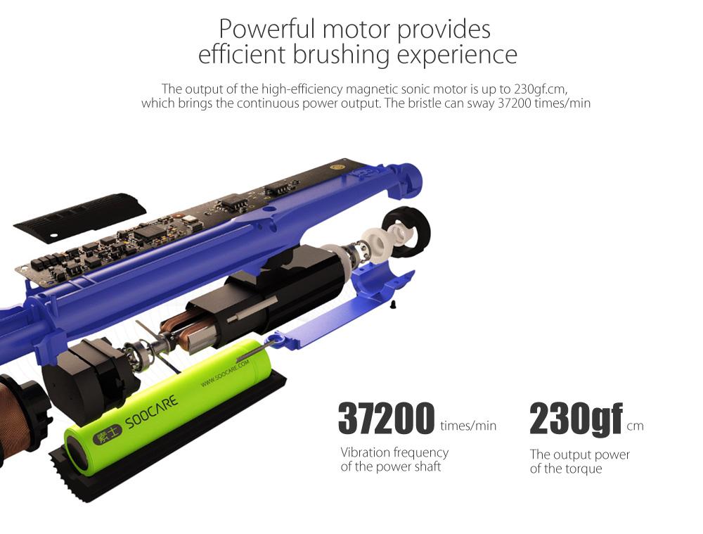 Soocas X3 Sonic motor