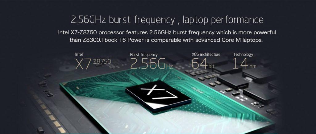 Teclast TBook 16 POWER procesador1