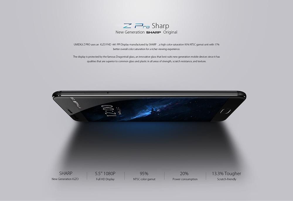 UMIDIGI Z Pro pantalla