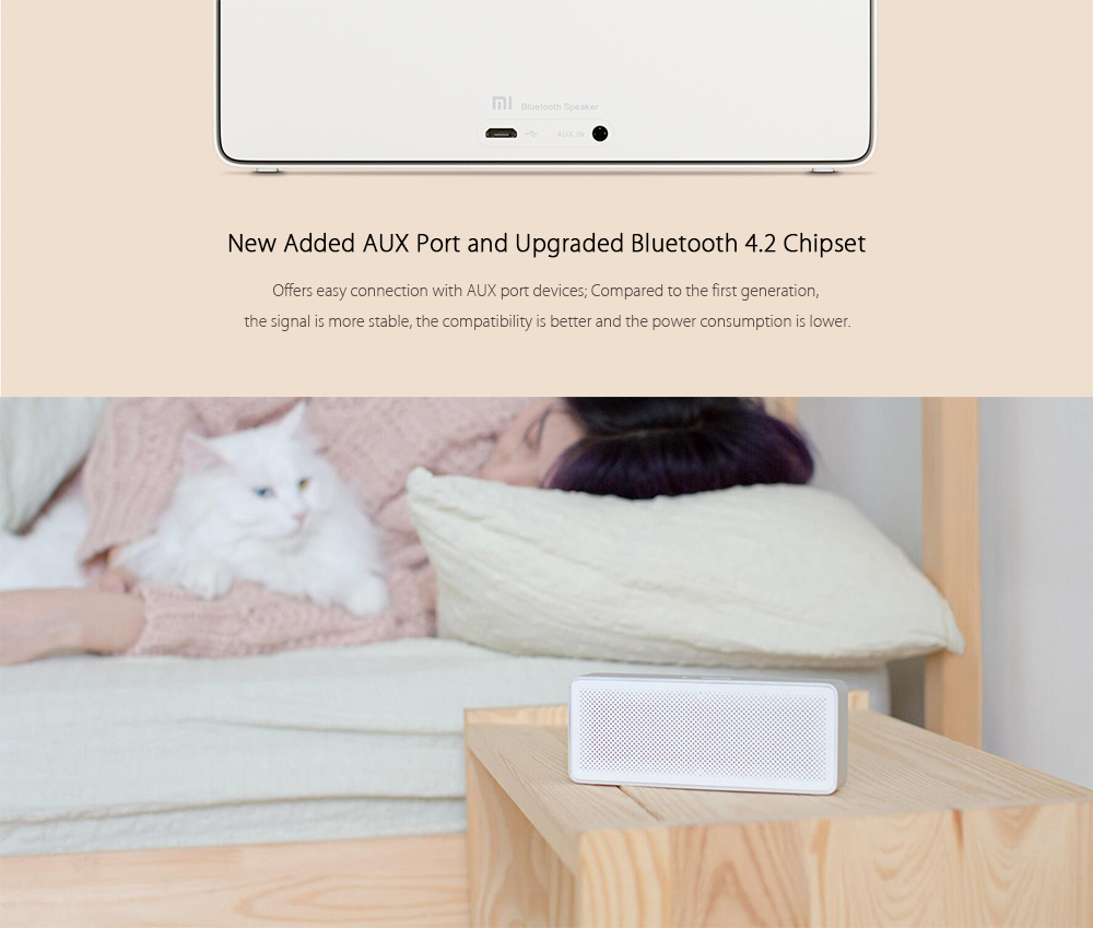 Características importantes del Xiaomi Bluetooth 4.2 Speaker