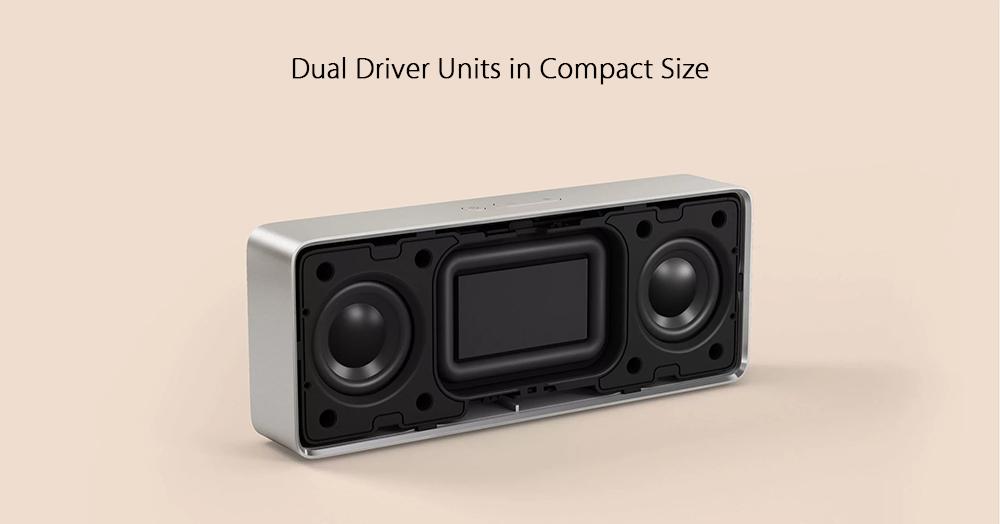 Diseño del Xiaomi Bluetooth 4.2 Speaker