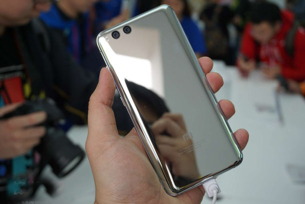 Xiaomi Mi6 plateado 01