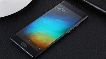 Xiaomi Mi Note 2, pantalla curva dual