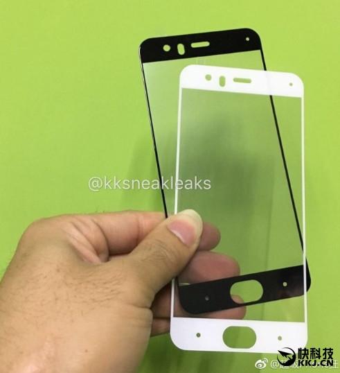 Xiaomi Mi6, Panel frontal